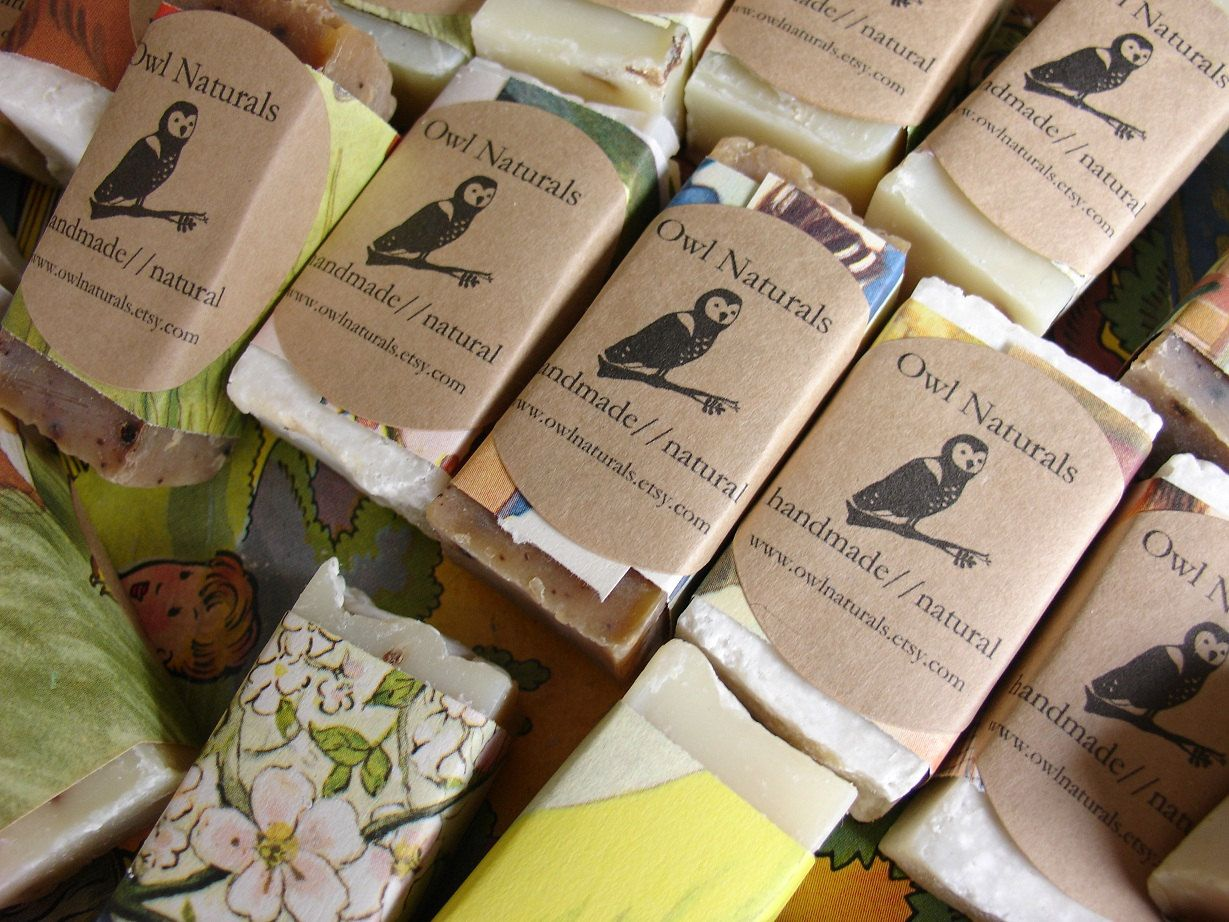 soap favors wrapped in vintage childrens book pages quantity of 24 baby shower