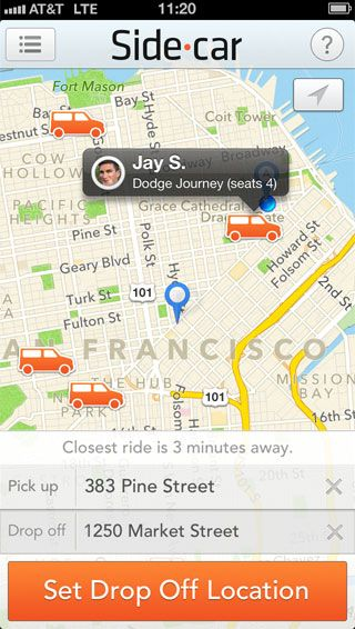 Sidecar Ride App >> Sidecar My Ride Is Your Ride Share A Ride With Someone