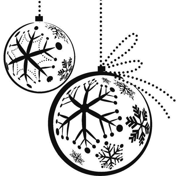 adornos de esferas de Navideno para colorear dibujar recortar y ...