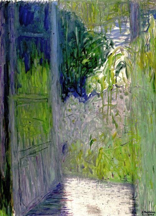peinture  Jacques Truphemus ** i l l u s t r a t i o n s - peinture porte et fenetre