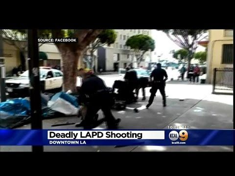 Youtube Homeless Man Lapd Los Angeles Police Department
