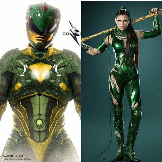 Rita Dragon Green Ranger Power Rangers Reboot Power Rangers Movie Power Rangers 2017