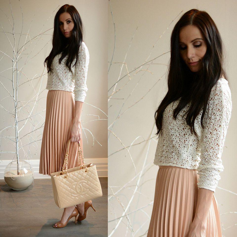 zara pink pleated skirt | Things to Wear | Pinterest | Pink ...