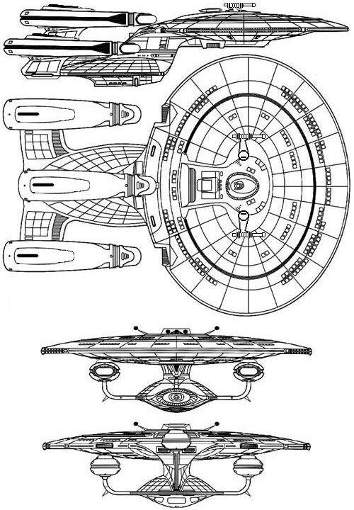 Retrofit Ncc1701d Diagram Star Trek Tng All Good Things Star