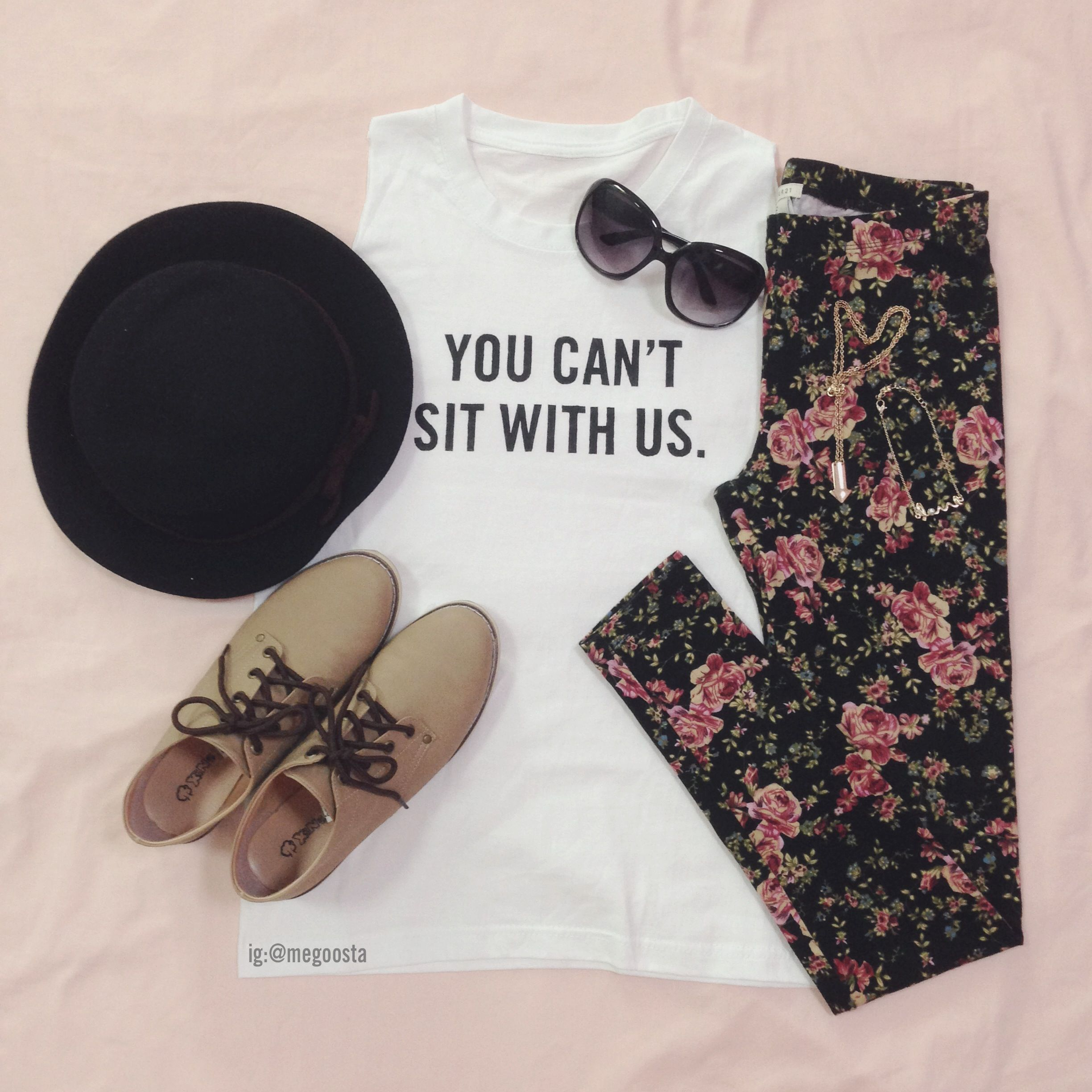 Diy Fashion Beauty Youtube: DIY Brandy Melville You Can't Sit With Us Graphic Tee