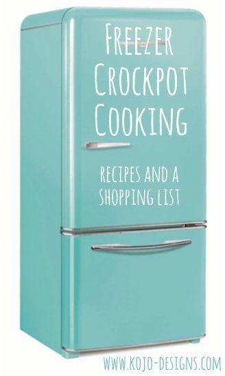 more freezer crockpot cooking recipes