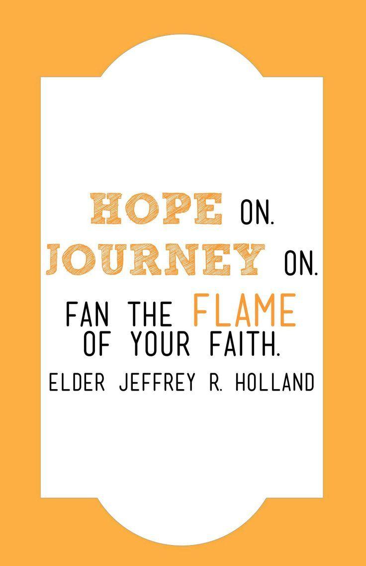 Hope on Journey on.