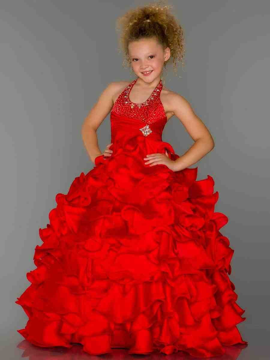 Red junior bridesmaid dresses my theme board pinterest red