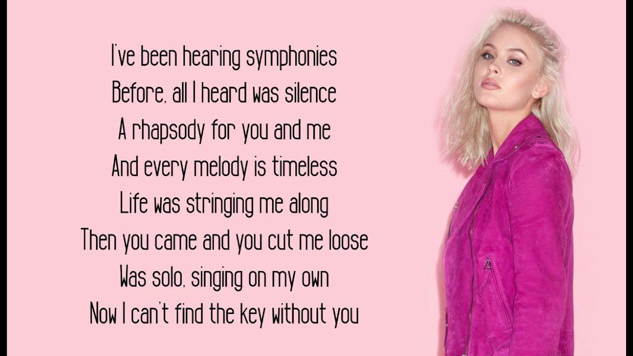 Clean Bandit Symphony Lyrics Feat Zara Larsson Symphony