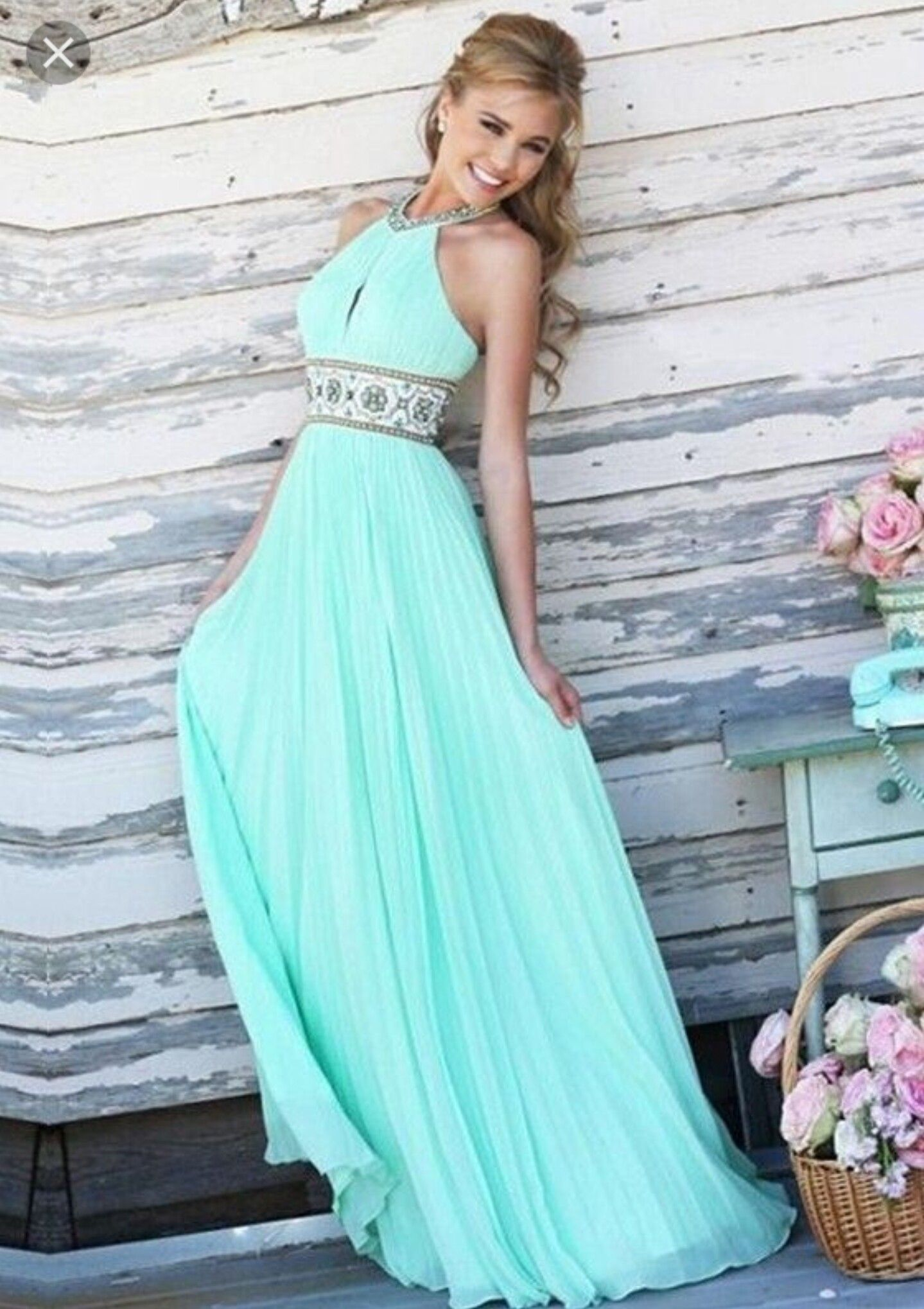 Here is a baby blue prom dress i think itus so pretty i would like