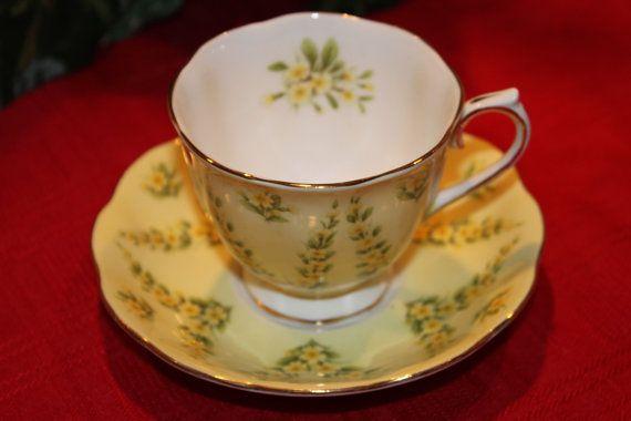 Royal Albert Vintage English Bone China Tea Cup by TeaAttheBrits, $35.00