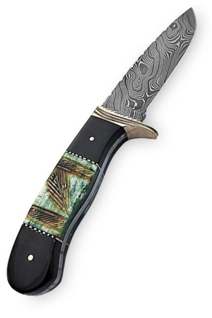 Handmade Bowie Knife Damascus Steel Hunting Bowie Knives Db6 Bowie Knife Knife Chef Knife