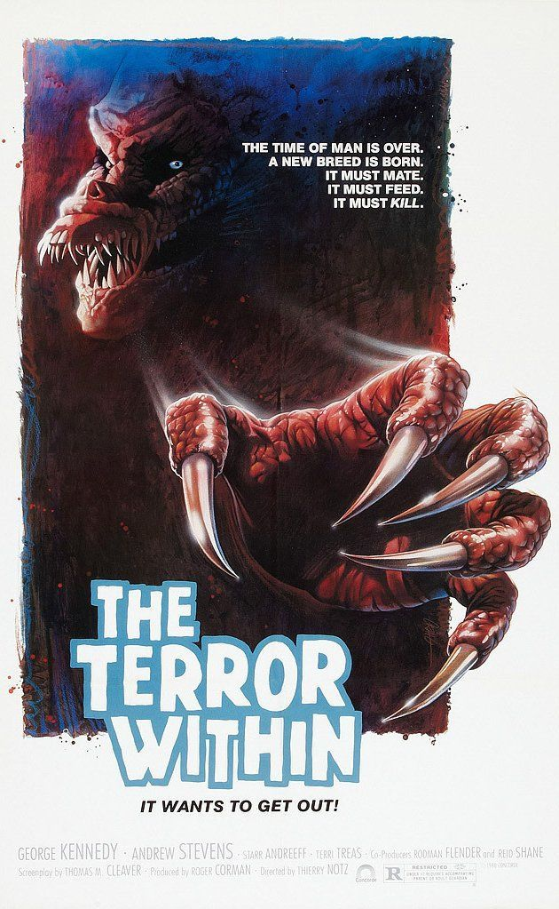 The Terror Within 1999 Horror Posters Terror Movies Movie