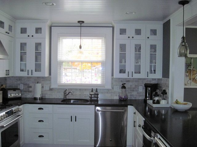 Cape Cod Kitchen Ideas Part - 50: Cape Cod Kitchen Remodel - They Bought Her Grandparentu0027s Old Home. Really  Lovely Remodel.