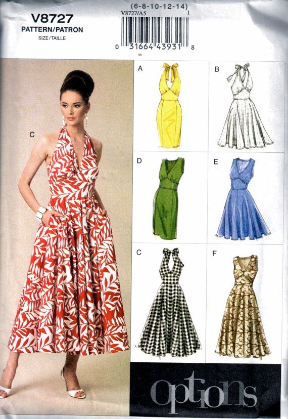 Simplicity Pattern 2886 Ms Sun Dress~Dress w//Bodice Opts /& Bolero Jacket