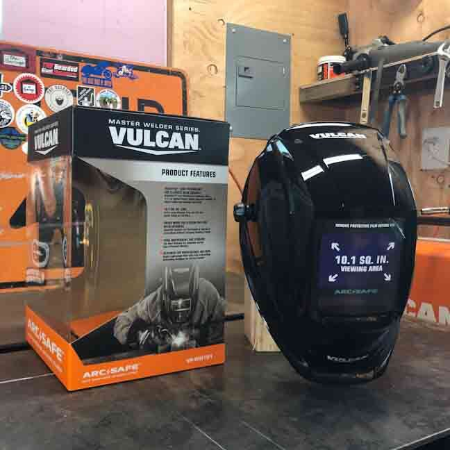 f9b101ce706 Review of the Vulcan auto darkening welding helmet from Harbor Freight.  Video on YouTube by The Bearded Giant.