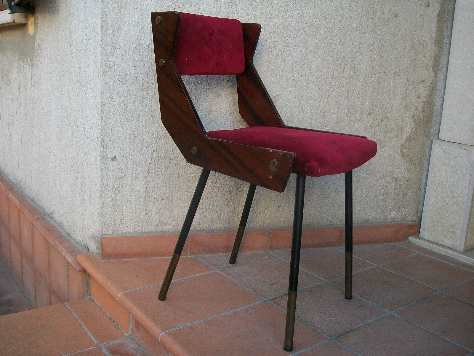 Sedia Poltrona Anni 039 50 Design Ico Parisi Franco Albini Cassina ...