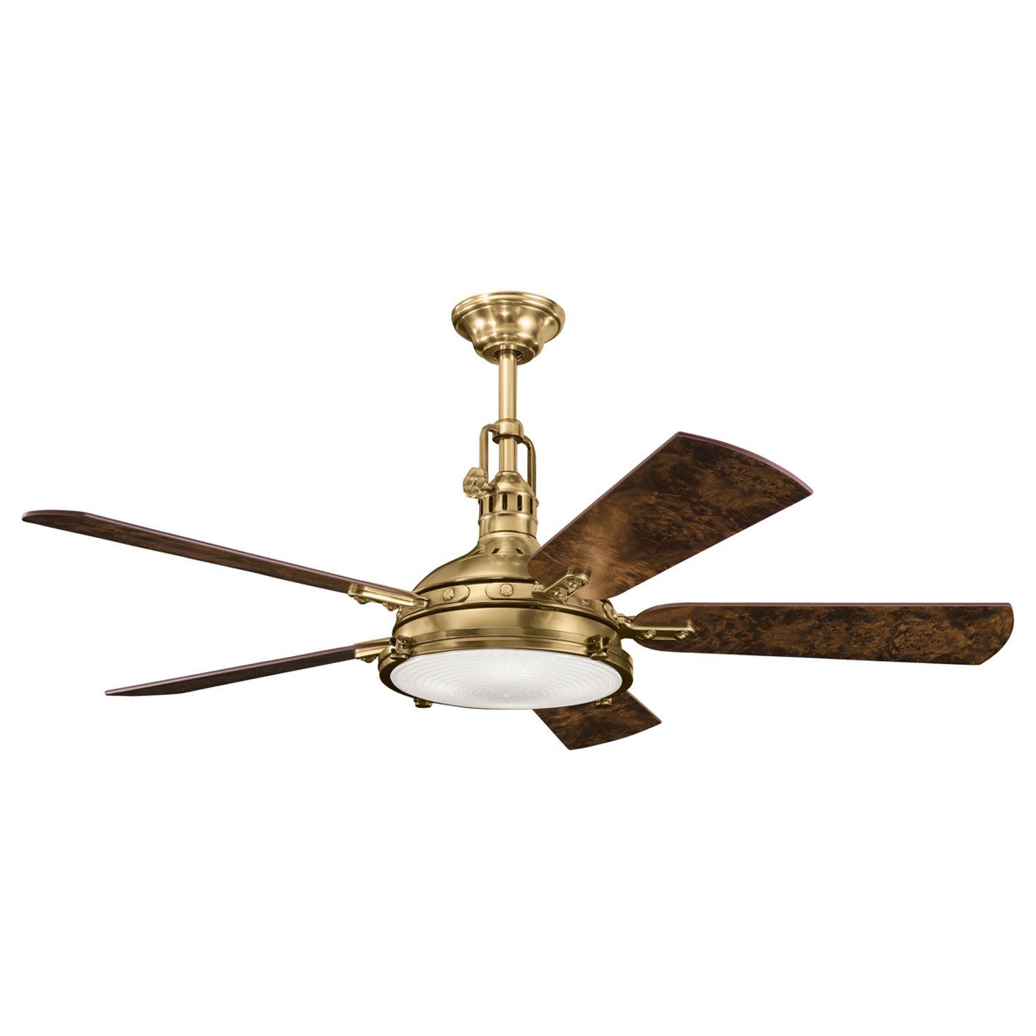 Endacott Lighting Brass Ceiling Fan Antique Ceiling Fans