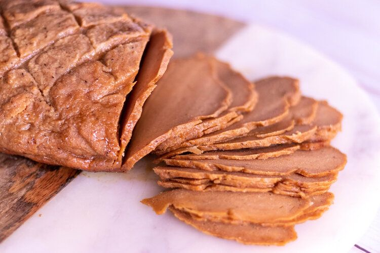 Vegan Glazed Deli Ham 86 Eats In 2020 Recipes Deli Ham Deli Meat Recipes