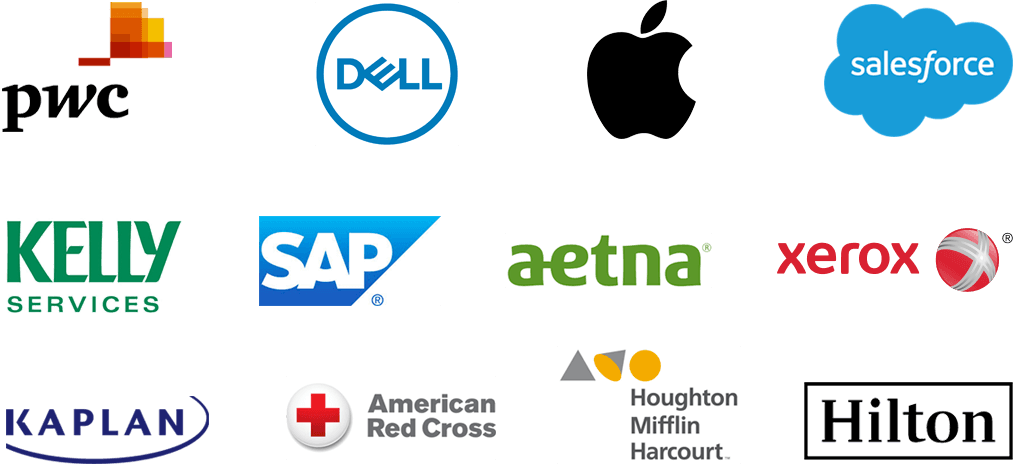 Just some of the great employers using