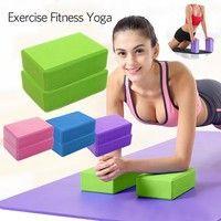 Crazy buyv Exercise Fitness Yoga Blocks Foam Bolster Pillow Cushion EVA Gym Training :  Crazy buyv E...