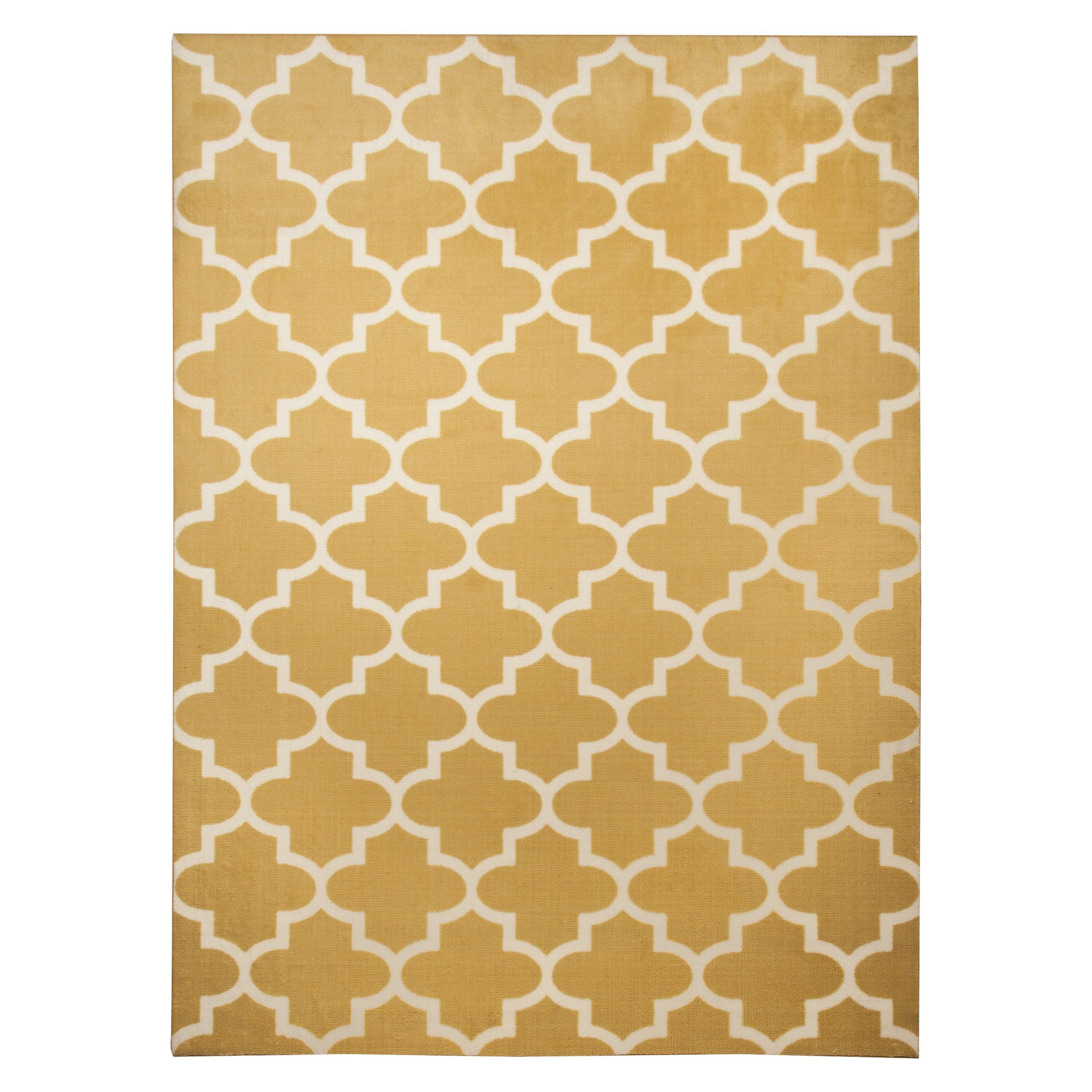 Maples Fretwork Rug Target This Looks So Good Against Our Hardwood Floors Yellow Ruggray