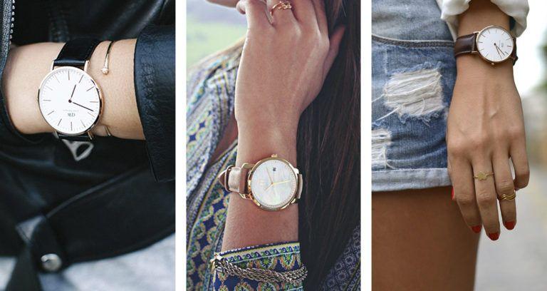 6195e0da957 Relógio feminino  acessório com poder de compor o look – Atualiza  MulherAtualiza Mulher