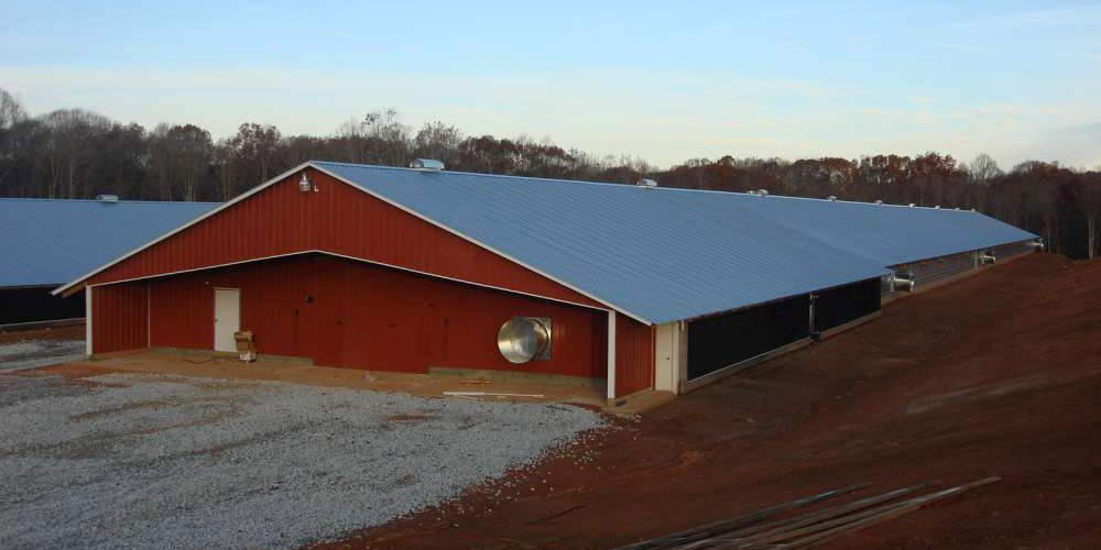 Commercial Chicken House commercial poultry house pictures | broiler house flooring system