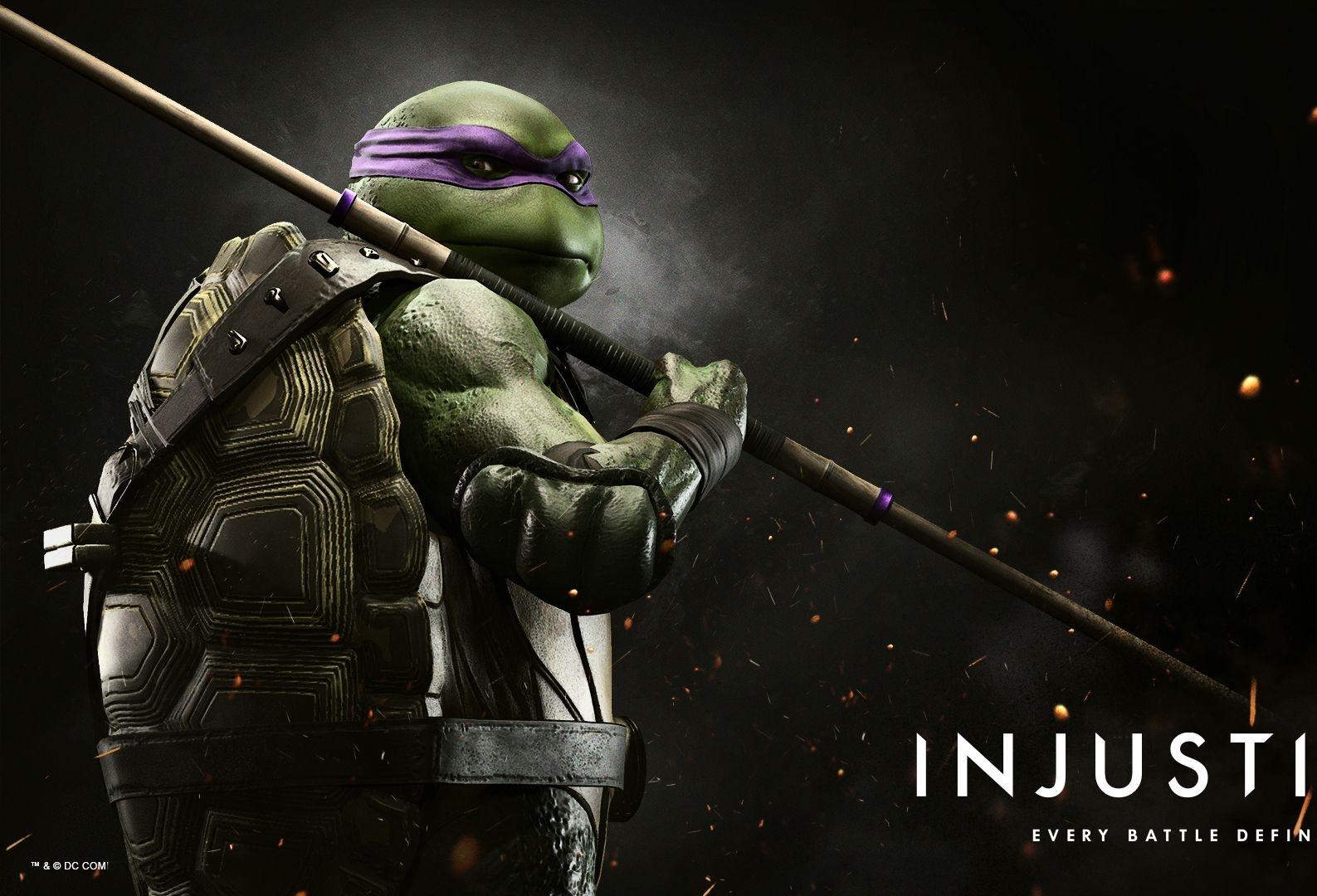 Donatello Injustice 2 Png Injustice 2 Injustice Darth