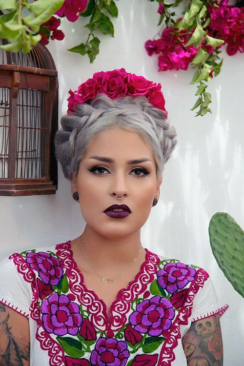Lora Arellano Wedding Google Search Hair Beauty Beautiful Hair Mexican Makeup