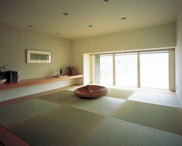 畳敷きにして和の空間に インテリアアイデア 住宅 自宅で