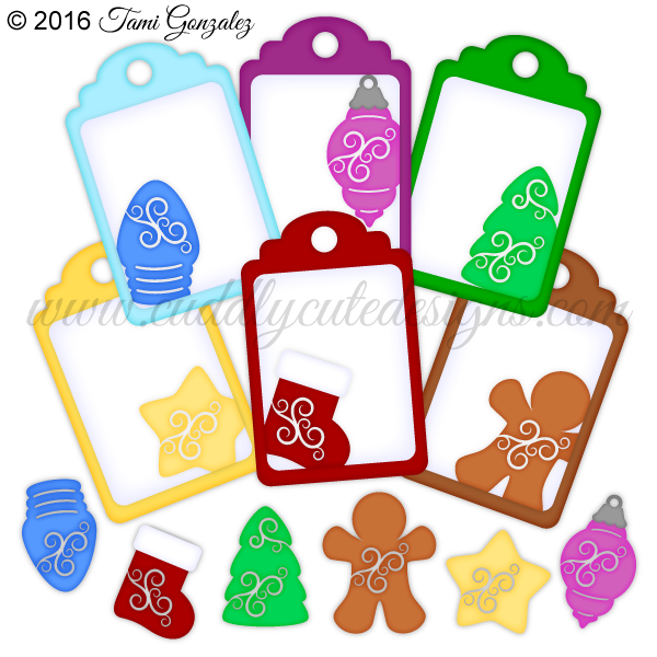 Fancy Christmas Tags