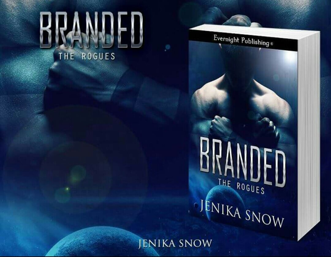 Branded the rogues series book one jenika snow july 21