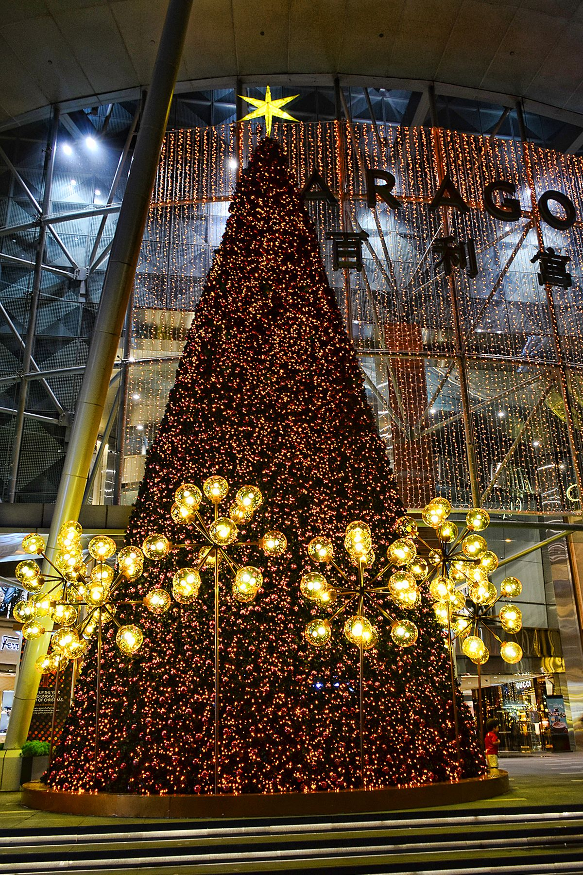 christmas tree outside paragon orchard road singapore - Why Is It Called Christmas