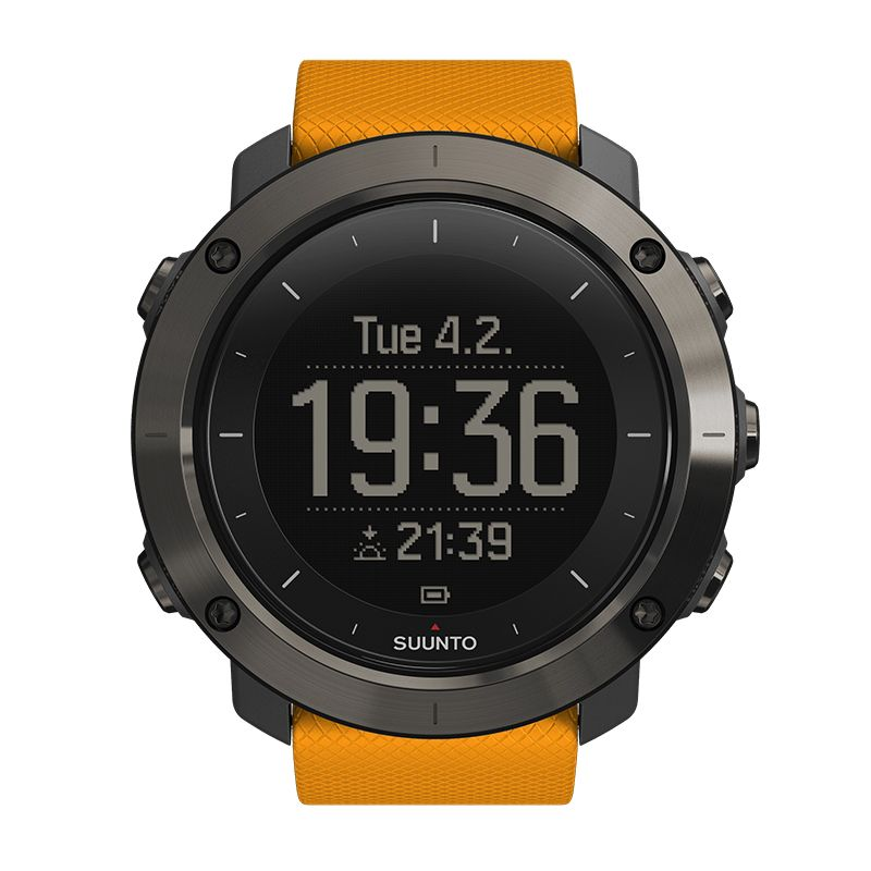 3503858b502 Buy a Suunto Traverse Amber GPS Outdoor Watch SS021844000 online at  unbeatable prices by UK s top