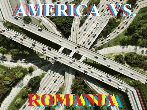 Romania vs. SUA - Autostrăzi.