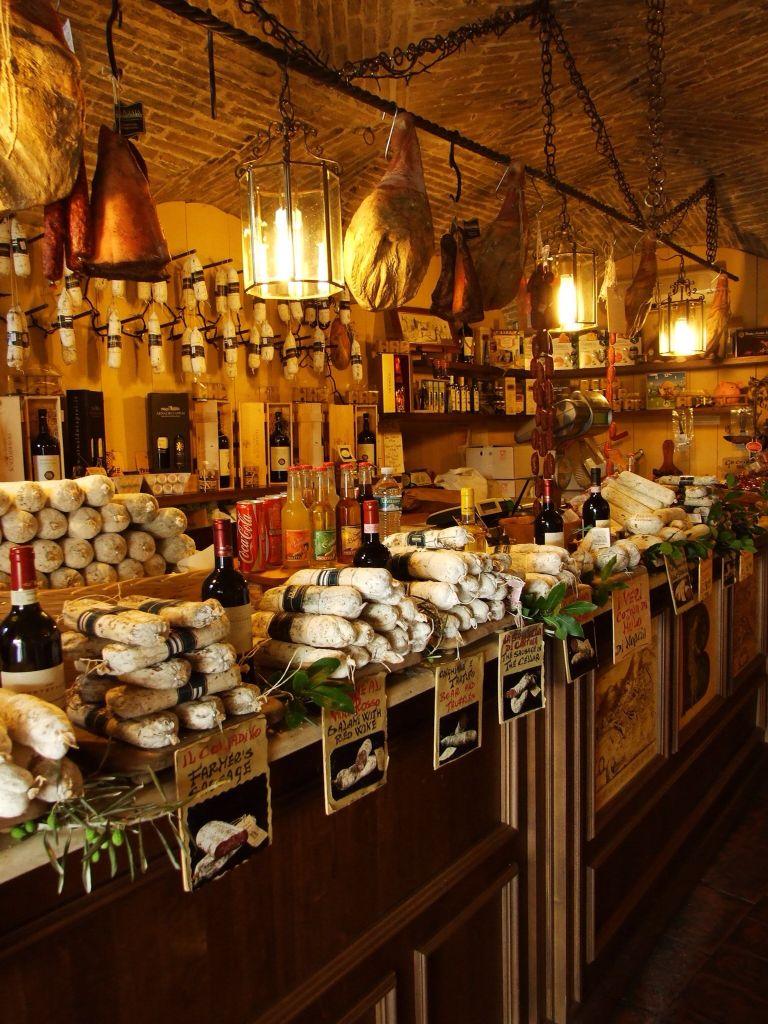 Italian delicatesse store