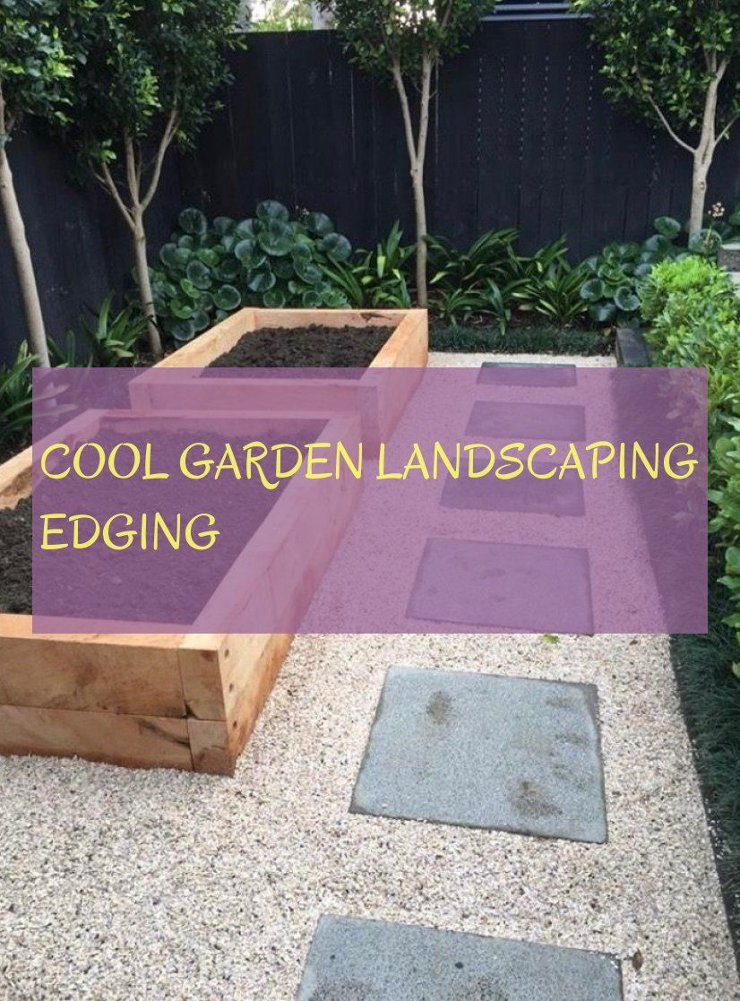 cool garden landscaping edging