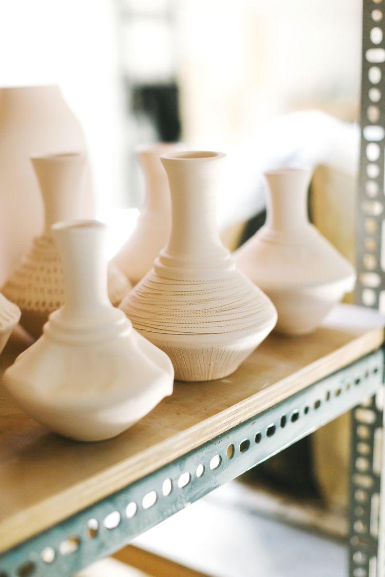 Bone Dry Pottery Ceramics Dry Clay