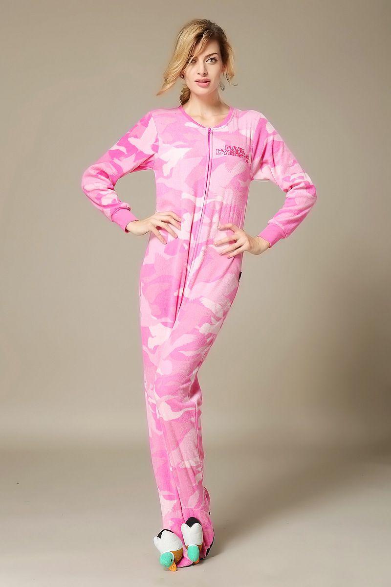 pink-polar-fleece-footed-pajamas   Footie Pajamas   Pinterest ...