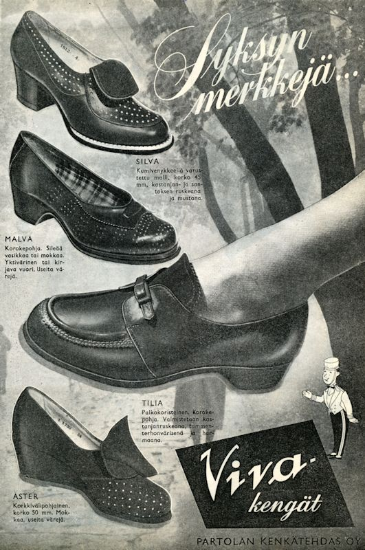 Viva-kengät - 1960-luku