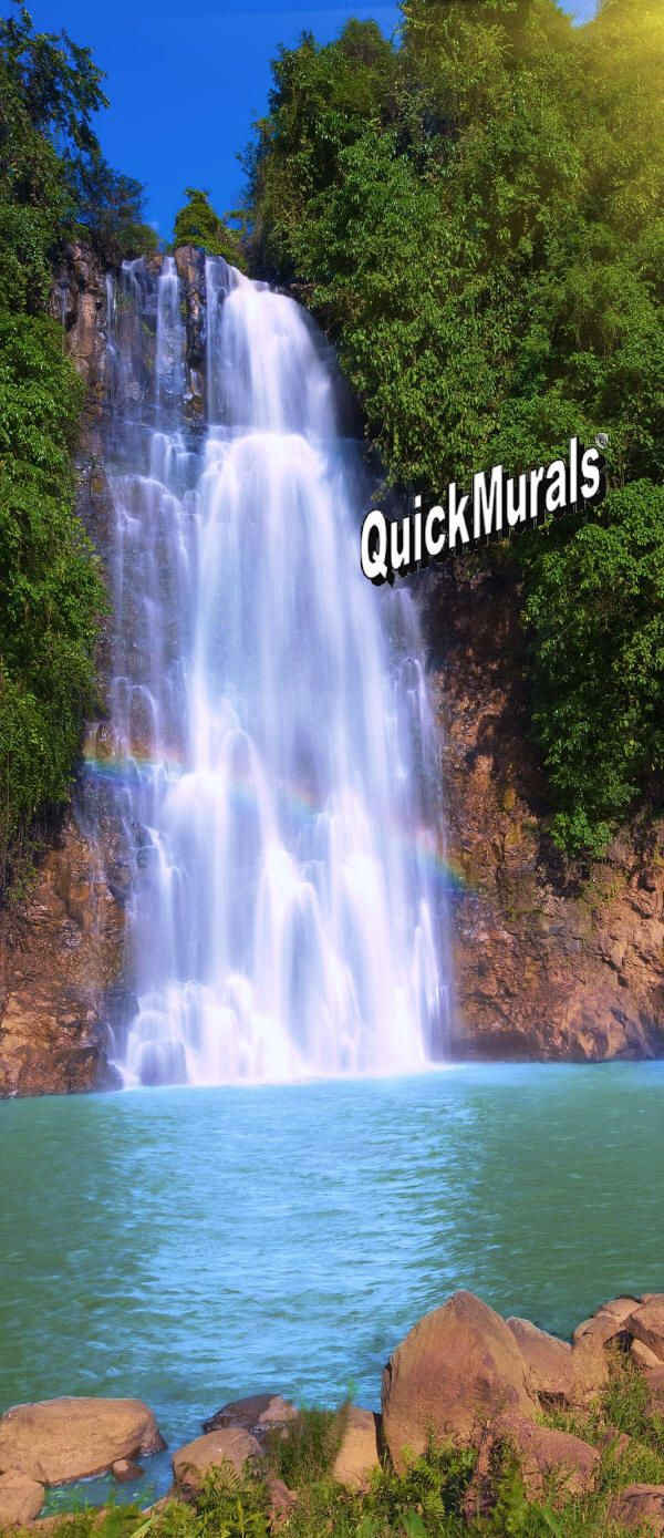 langevin waterfall wall mural nature wall murals pinterest browse our extensive selection of door size wall murals browse our large selection of full wall murals mid size wall murals peel and stick murals and