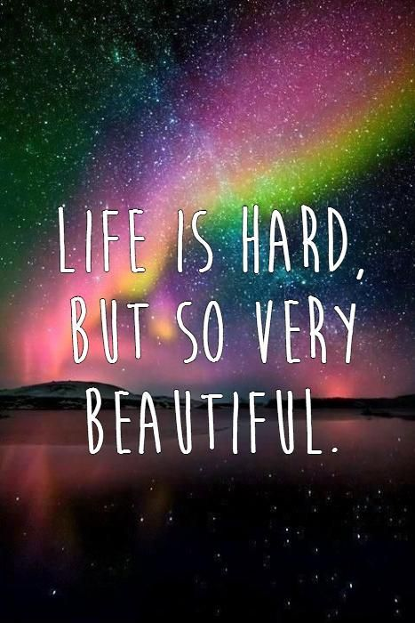 Life Is Hard Quotes Life Is Hard But So Very Beautifullife Quotes On Picturequotes .