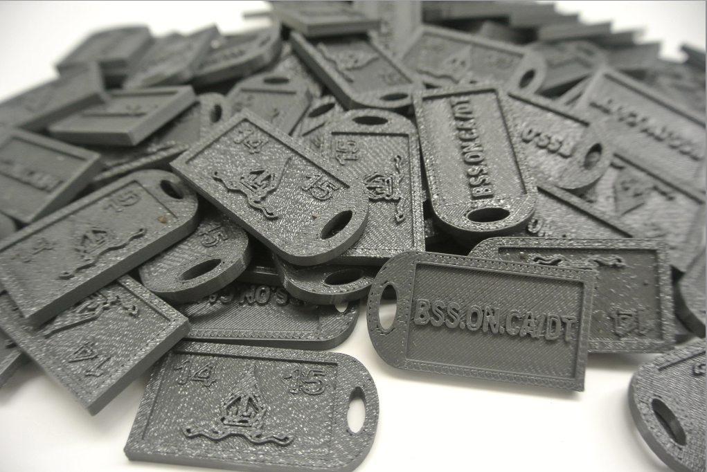 3d printed keychains key chain chains great for advertisement (3d printing 3dprint ideas)