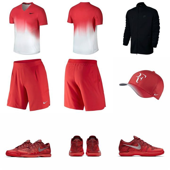 Roger Federer S Us Open 2017 Day Session Outfit Tennis Fashion Roger Federer Outfits