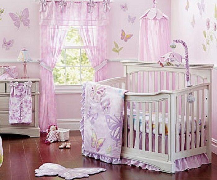 Heidi Klum Butterfly Crib Bedding