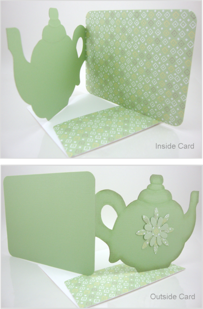 time for tea teapot card template | Greeting cards ...