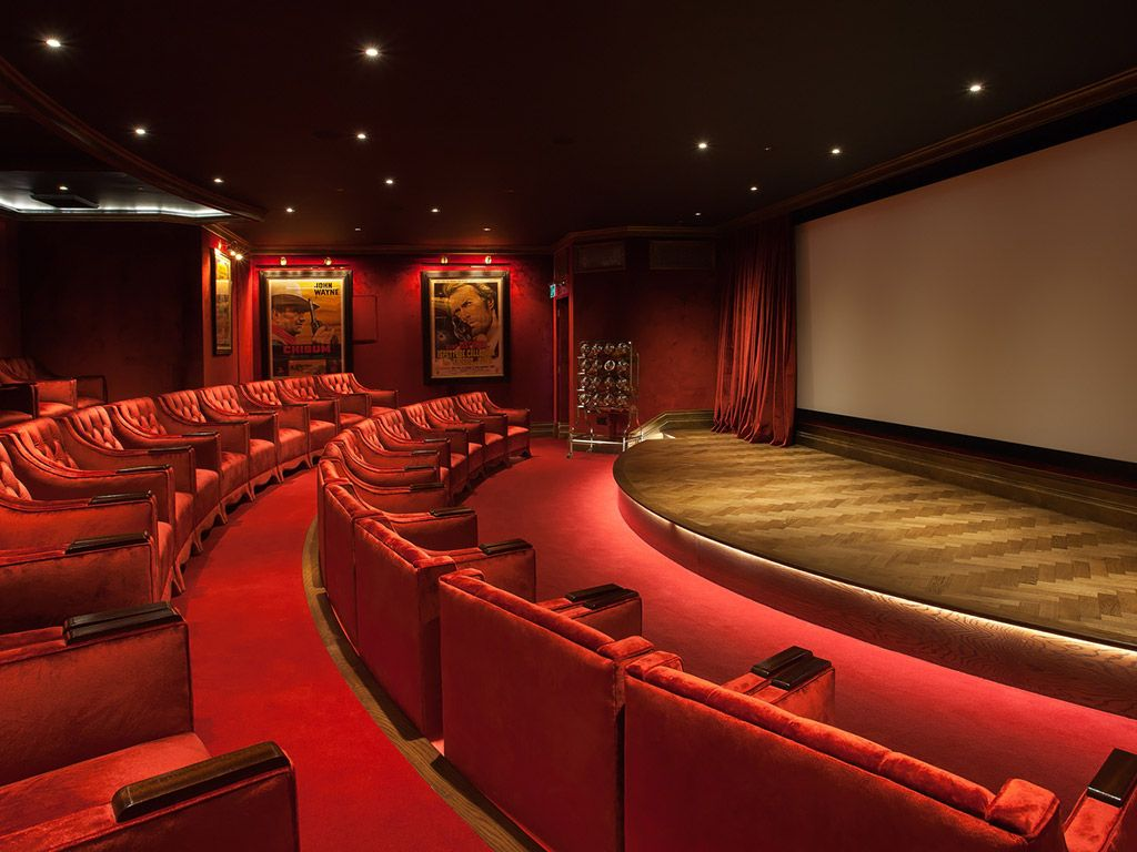 10 Hotels With Their Own Movie Theaters Ashford Castle Hotel Luxury Hotel