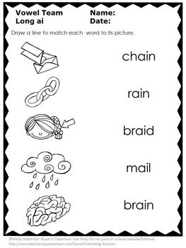 Phonics Distance Learning Packet 1st Grade 2nd Grade