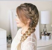 50+ Best Wedding Hair Half Ideas 36 - De Decoration - Hair Beauty